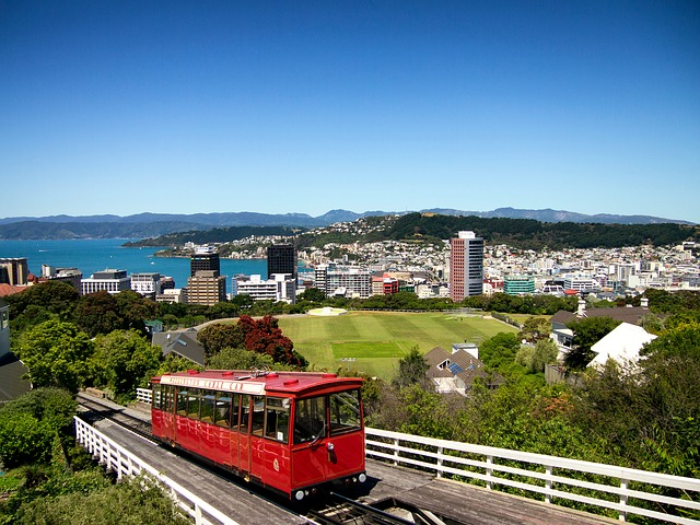 Departure to Wellington